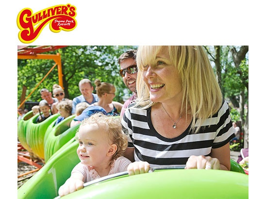 GULLIVER'S THEME PARK FAMILY TICKETS sweepstakes