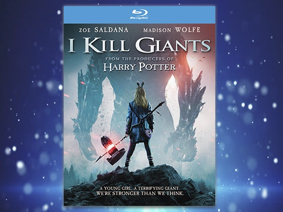 """I KILL GIANTS"" on Blu-ray sweepstakes"