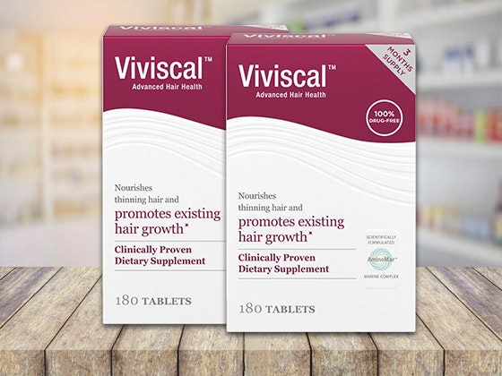 VIVISCAL™ Hair Growth Supplements sweepstakes