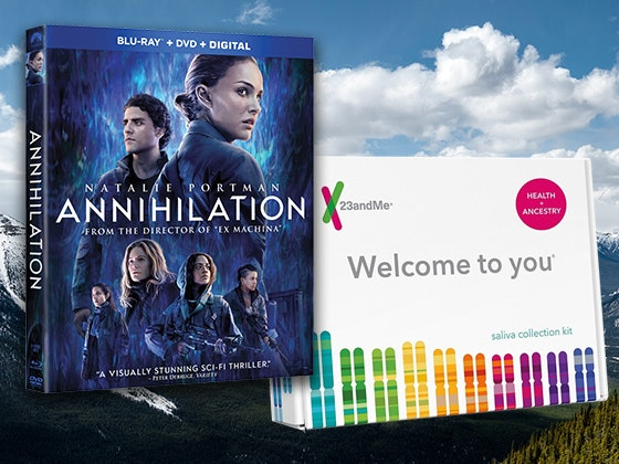 ANNIHILATION and 23andMe Health + Ancestry Kit sweepstakes