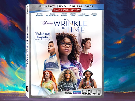 """A Wrinkle in Time"" on Blu-ray Combo Pack sweepstakes"