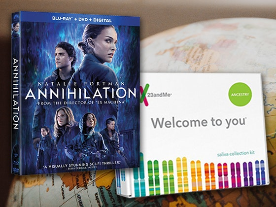 ANNIHILATION and 23andMe Ancestry Kit sweepstakes