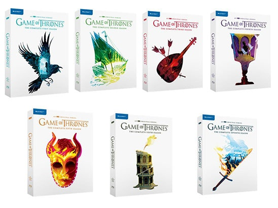 Game Of Thrones box set sweepstakes