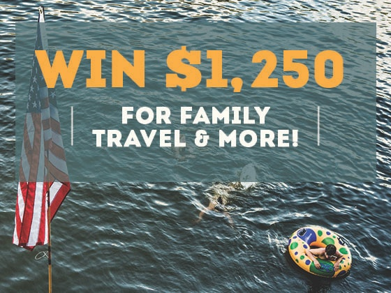 $1250 Cash June 2018 sweepstakes