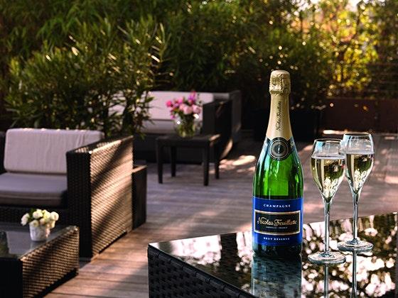 Champagner-Set zu gewinnen  Gewinnspiel