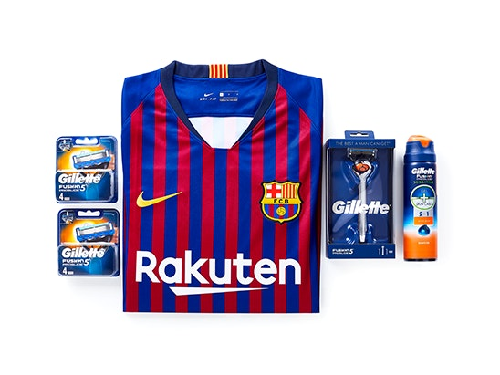 Gillette Prize Bundle £150 sweepstakes