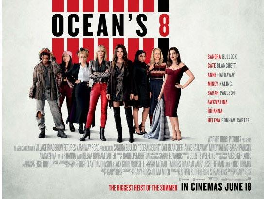 ocean 8  sweepstakes