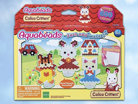 Calico critters aquabeads set epoch everlasting play giveaway