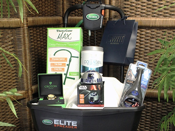 Father's Day Swag Bag from Backstage Creations sweepstakes