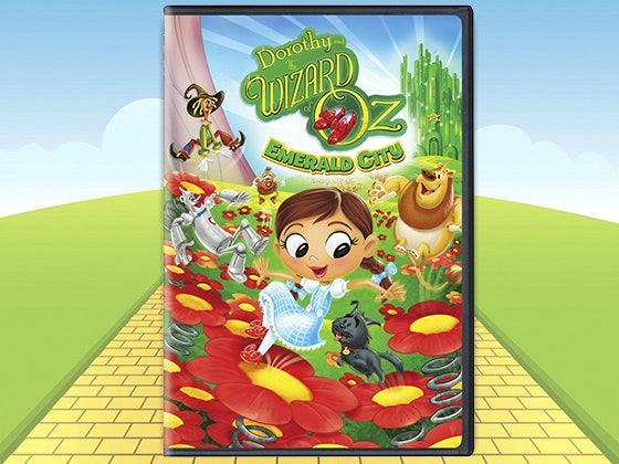 Dorothy wizard of oz emerald city dvd giveaway