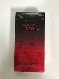 Win Elizabeth Arden Always Red eau de toilette sweepstakes