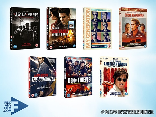 WEEKENDER FATHER'S DAY DVD BUNDLE sweepstakes