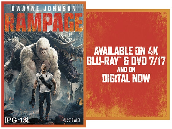 """Rampage"" on Digital sweepstakes"