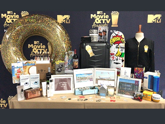 2018 MTV Movie and TV Awards Swag Bag sweepstakes