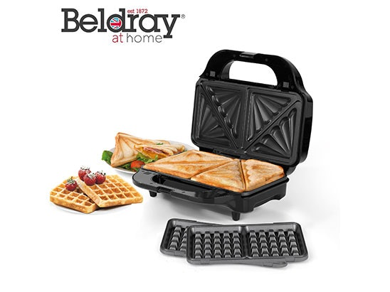 Toastie waffle