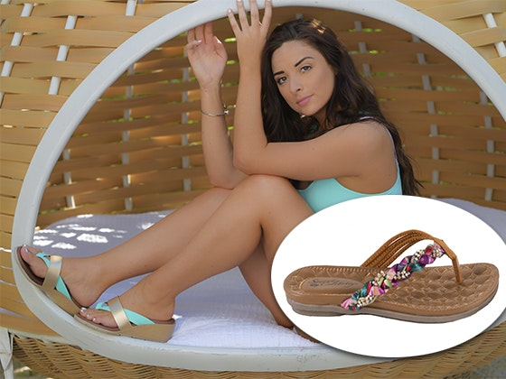 Secret celebrity sandals june giveaway 2