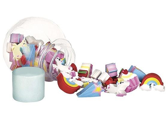 Alwaysfits magical mini unicorn erasers giveaway