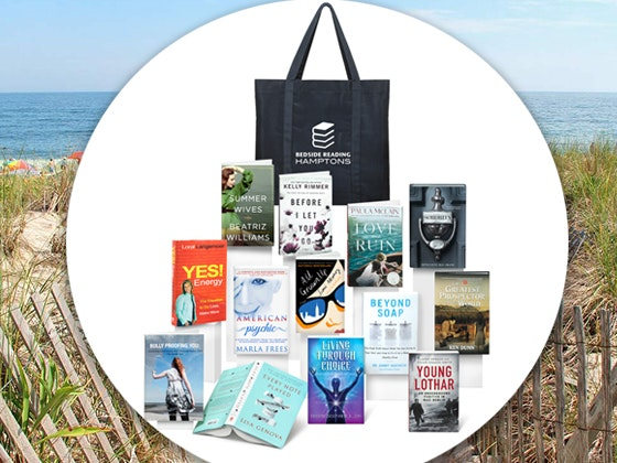 Bedside Reading in the Hamptons Gift Bag for June/July sweepstakes