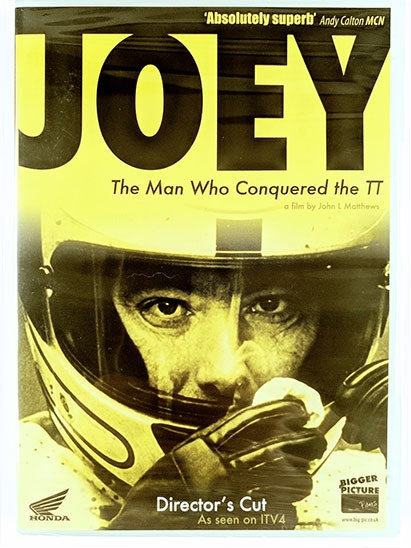 Joey - The man who conquered the TT on DVD sweepstakes