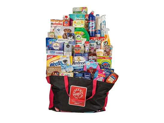 £235 Product of the Year Goody Bag sweepstakes
