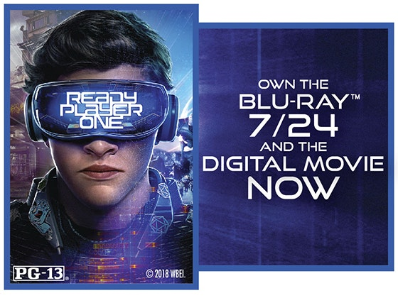 """Ready Player One"" on Digital sweepstakes"