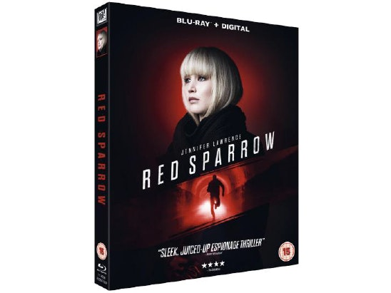Red Sparrow on Blu-Ray sweepstakes