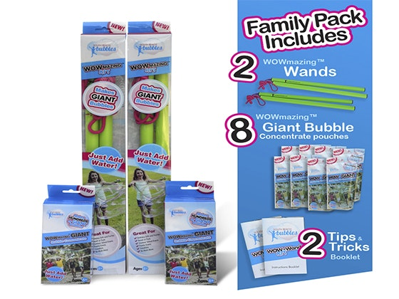 WOWmazing™ Big Bubbles Family Pack sweepstakes