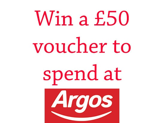 Argos sweepstakes