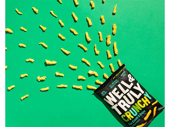 Win Cases of Well & Truly Crunchy Corn Snacks sweepstakes