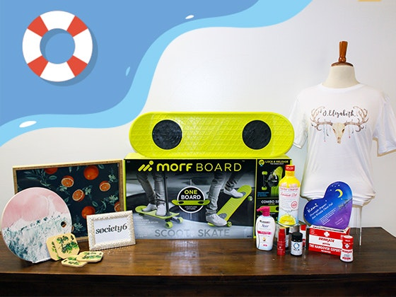 Summer Trends Swag Bag from Backstage Creations sweepstakes
