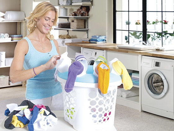 SockSync Sock Sorter and Laundry Organizer sweepstakes