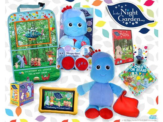 Win In The Night Garden goodies this summer! sweepstakes