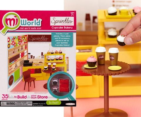 Mini cupcake shop giveaway