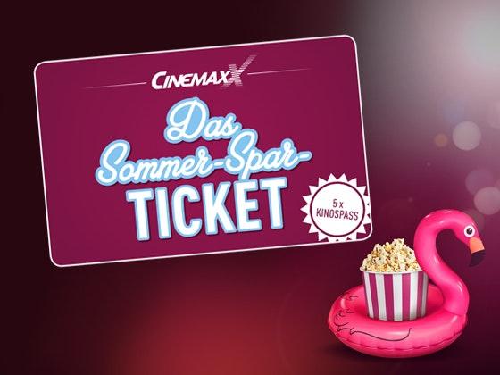 5 Sommer-Spar-Tickets & Popcorn Gewinnspiel