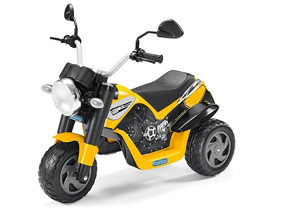 WIN A PEG PEREGO DUCATI SCRAMBLER AND HELMET  sweepstakes