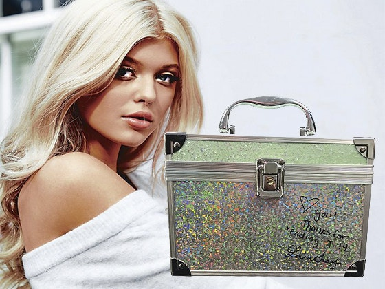 Loren grays signed lock box giveaway