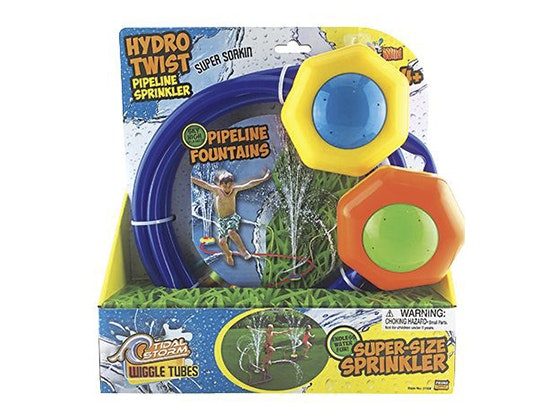 Super size water pipeline sprinkler giveaway 1