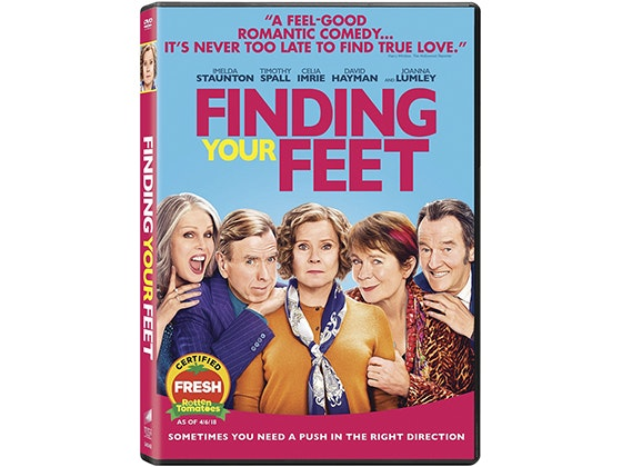 Finding your feet dvd giveaway