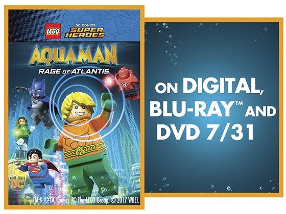 "Win ""LEGO DC Super Heroes: Aquaman: Rage of Atlantis"" on Digital! sweepstakes"