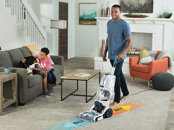 Hoover® SmartWash™ Automatic Carpet Cleaner sweepstakes