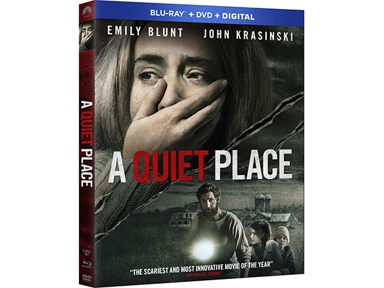 "HDTV & Blu-ray Player + ""A QUIET PLACE"" on Blu-ray Combo Pack sweepstakes"