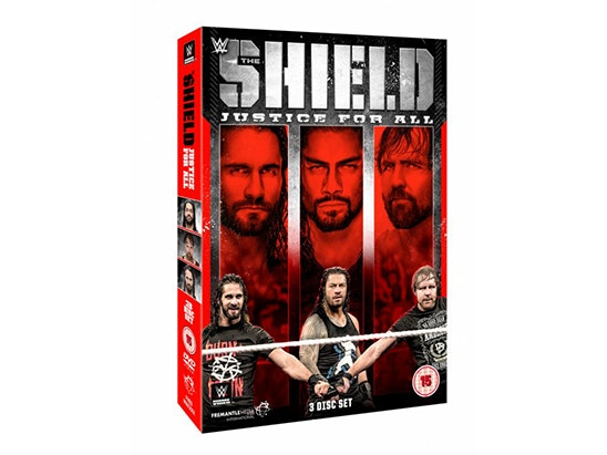 WWE: The Shield - Justice For All sweepstakes