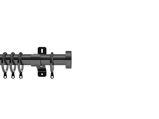 WIN A STUD CURTAIN POLE IN GRAPHITE, FROM SWISH sweepstakes