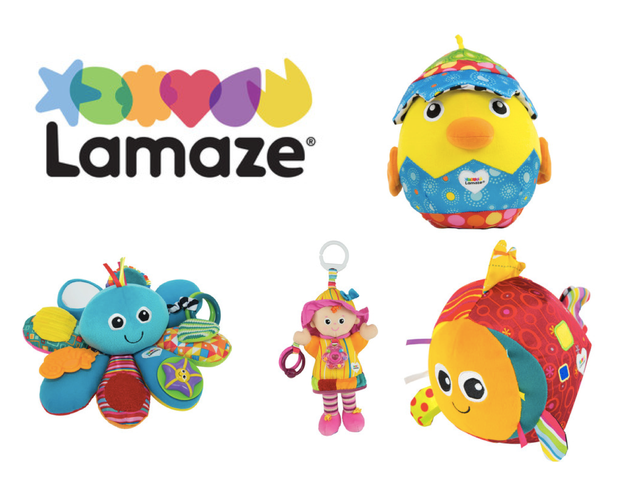 Win a Lamaze prize bundle worth £77!  sweepstakes