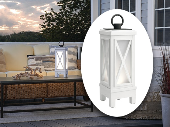 Kichler Montego Portable Bluetooth LED Lantern sweepstakes