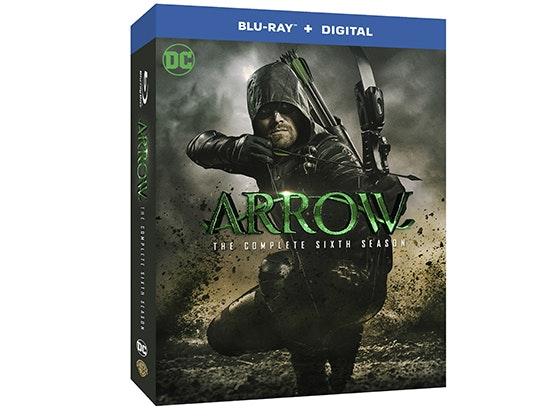 Arrow: The Complete Sixth Season on Blu-ray™ sweepstakes