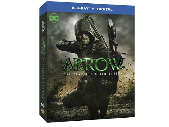 Arrow: The Complete Sixth Season on Blu-ray™ sweepstakes