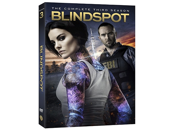 """Blindspot: The Complete Third Season"" on DVD sweepstakes"