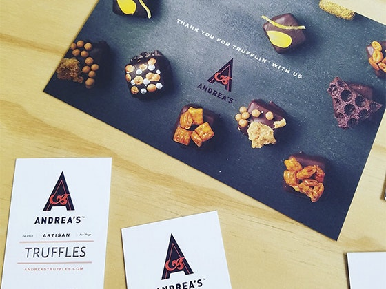 Andrea's Truffles sweepstakes