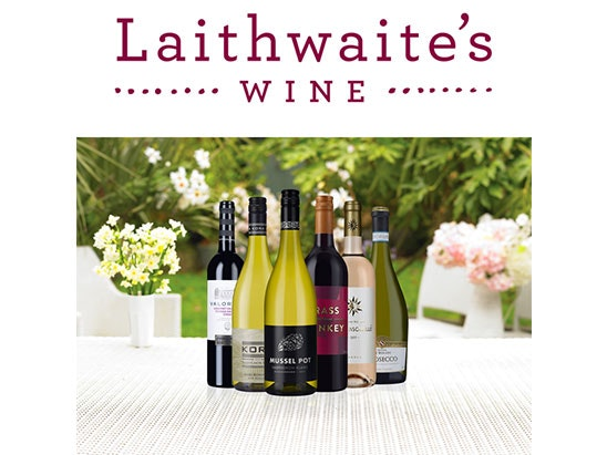 Win a £75 Laithwaite's Wine voucher sweepstakes